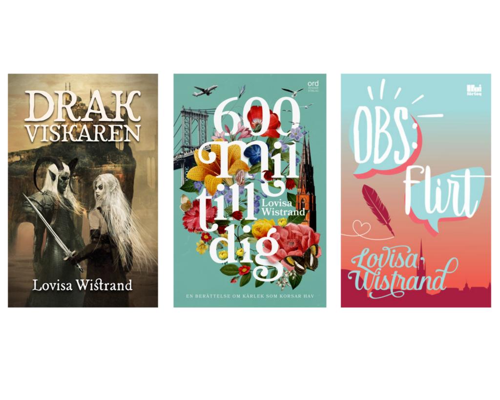 Böcker av författaren Lovisa Wistrand